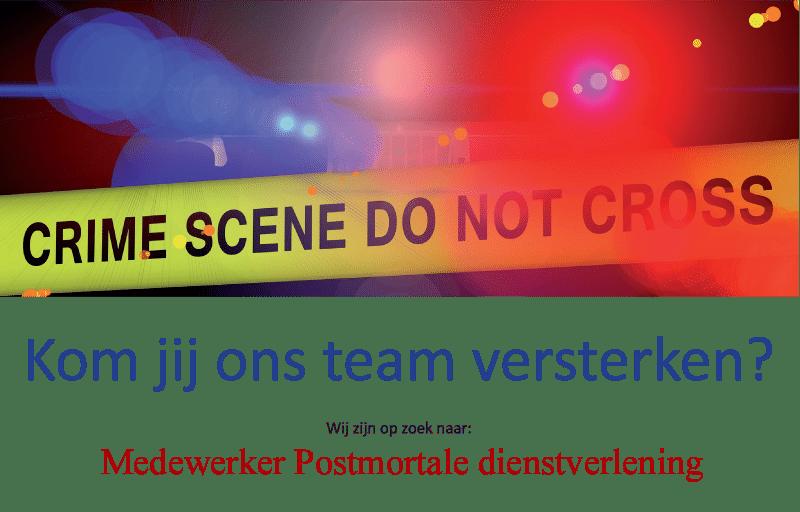 Postmortale dienstverlening overledenen verzorging politie